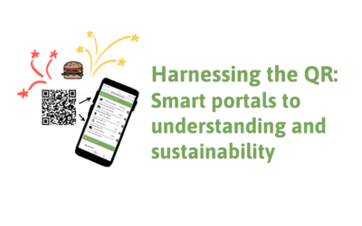 Harnessing the QR: Smart portals to understanding and sustainability